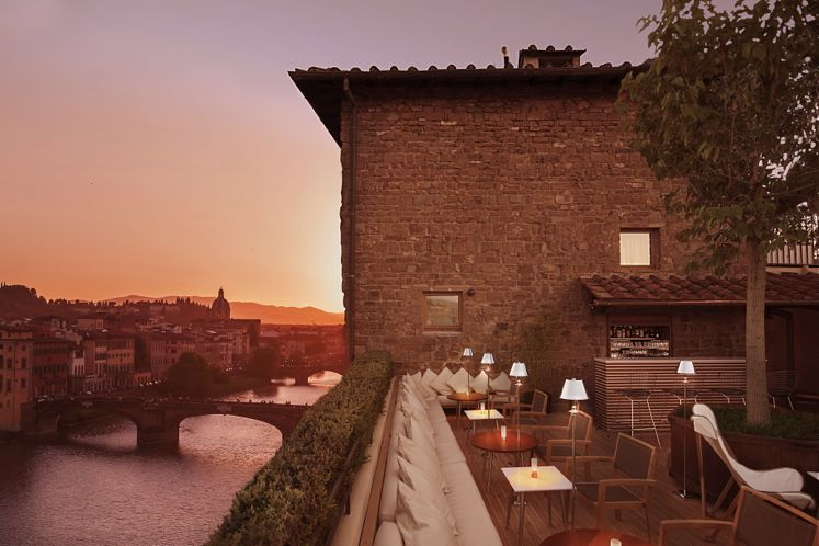 Top 10 Hottest Hotel Bars | Smith Hotel Awards 2015 | La Terrazza at Continentale, Florence, Italy