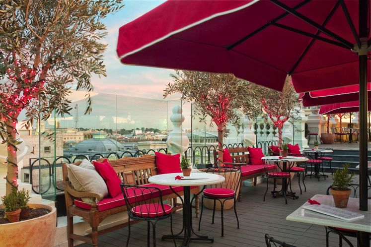 Top 10 Hottest Hotel Bars | Smith Hotel Awards 2015 | La Terrazza at the Principal Madrid hotel, Spain
