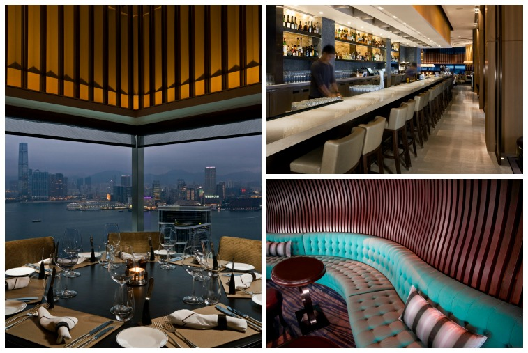 Top 10 Hottest Hotel Bars | Smith Hotel Awards 2015 | Café Gray Deluxe at the Upper House, Hong Kong, China
