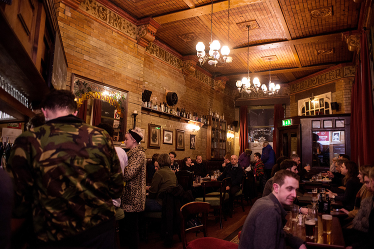 Grab a drink at the best bar in manchester, marble arch
