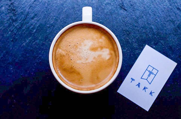 Best coffee in manchester at Takk MCR