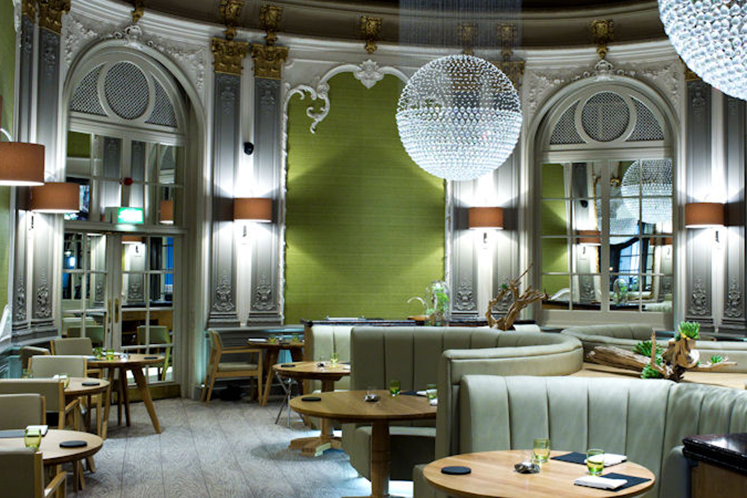 Dining at the French, one of the best restaurants in manchester