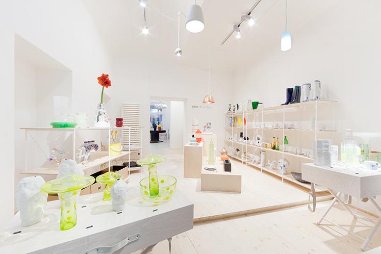Qubus design store in Prague