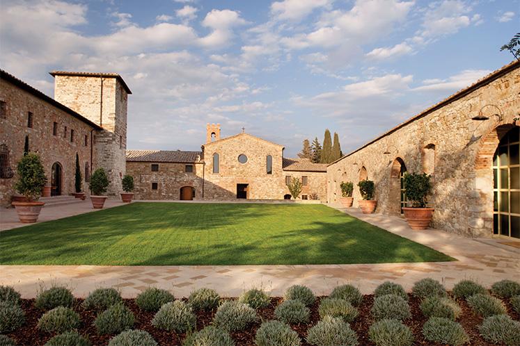 Castello di Casole, Tuscany, Italy
