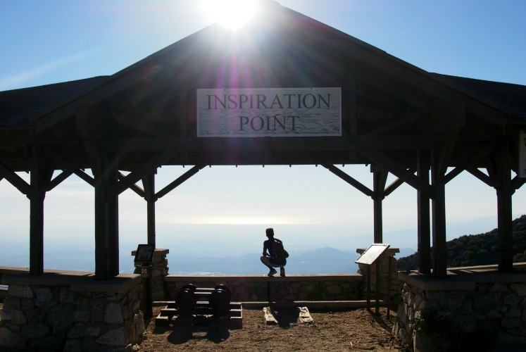 Inspiration Point in Runyon Canyon