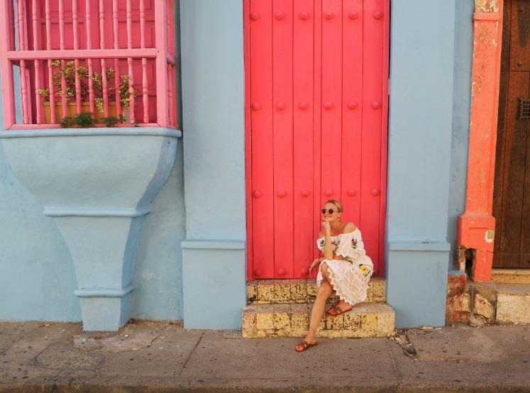 Pandora Sykes, Cartagena, Colombia