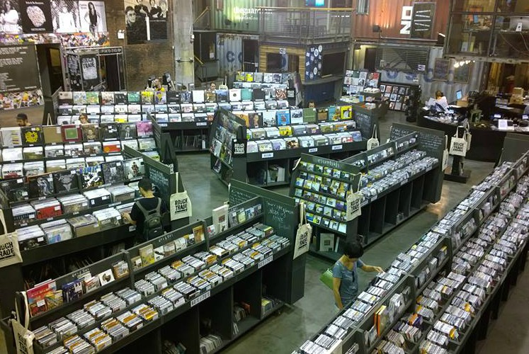 Rough Trade NYC record store, New York, NY