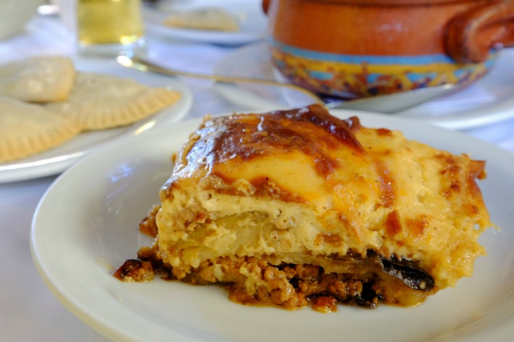Moussaka; what to eat in Athens