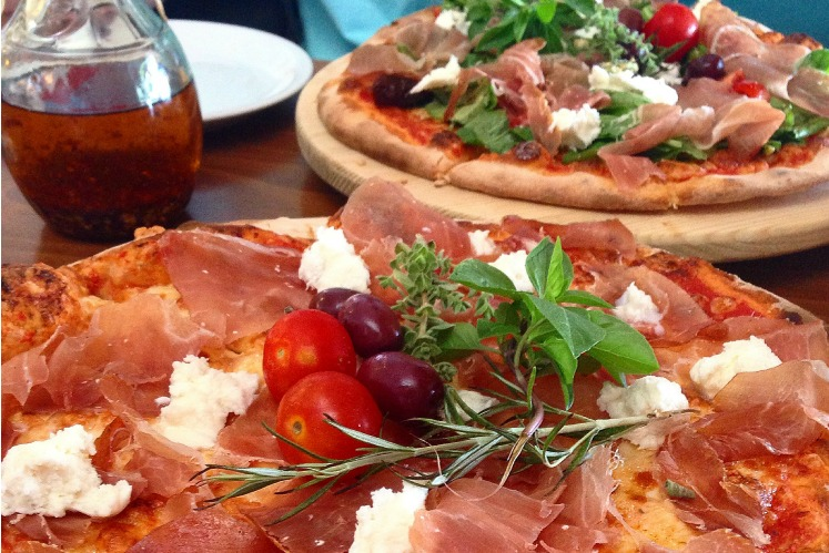 Greek pizza; what to eat in Athens