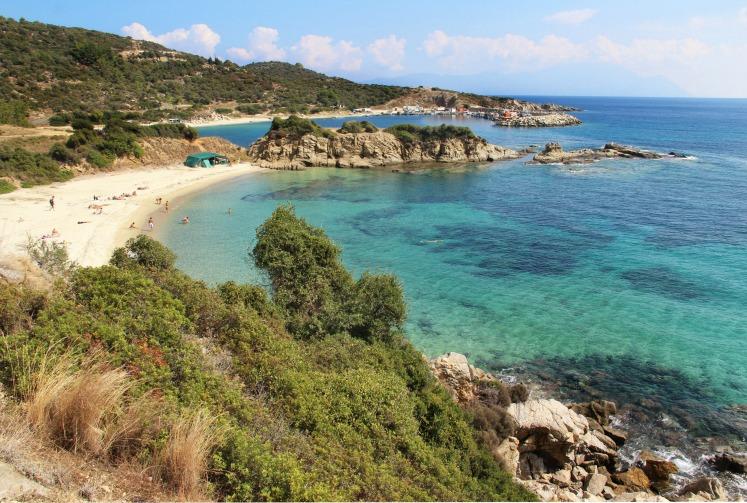 Sarti beach, Sithonia, Greece