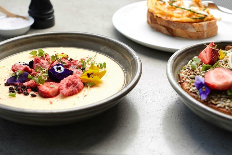 The Kettle Black restaurant, Melbourne, Australia