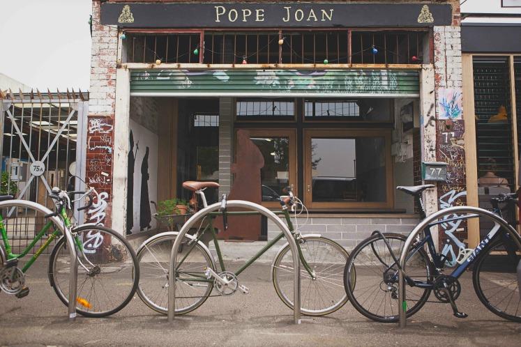 Pope Joan restaurant, Melbourne, Australia