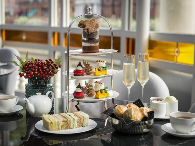 Festive Afternoon Tea at the Connaught, London, UK