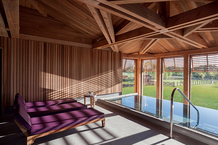 The spa at Les Sources de Caudalie, Bordeaux, France