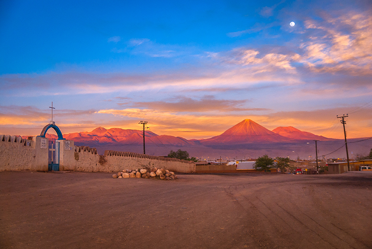 Licanabur Volcano, San Pedro de Atacama, Chile, South America