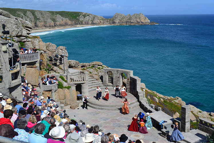 Minack Theatre, Cornwall, United Kingdom