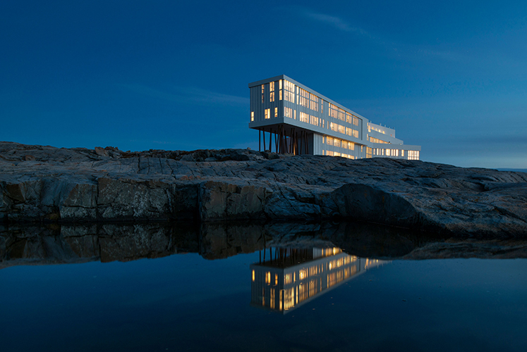 Fogo Island Inn, Newfoundland and Labrador, Canada