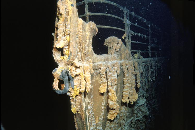 Shipwreck diving spot, the Titanic