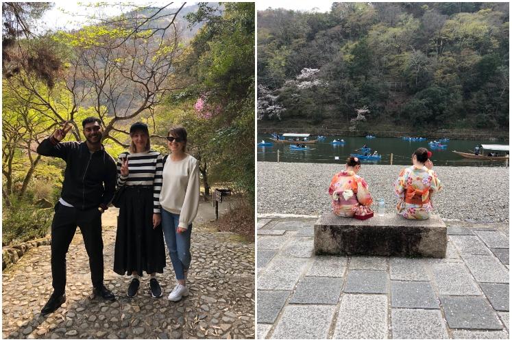 Lana Elie in Japan