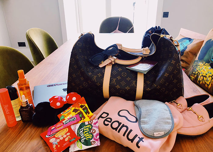 Michelle Kennedy packing list