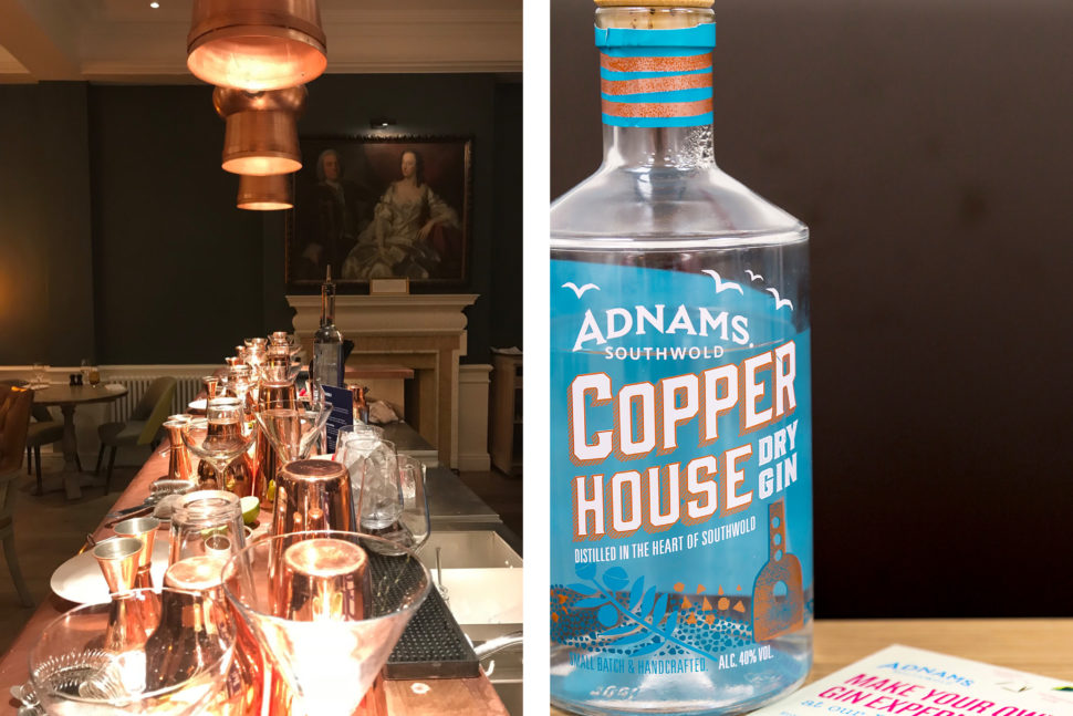 The Swan at Southwold and award-winning Adnams gin
