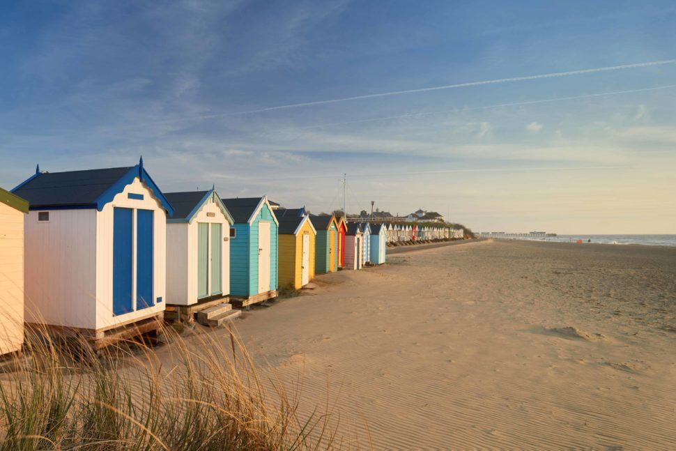 The beach at Southwold, Suffolk