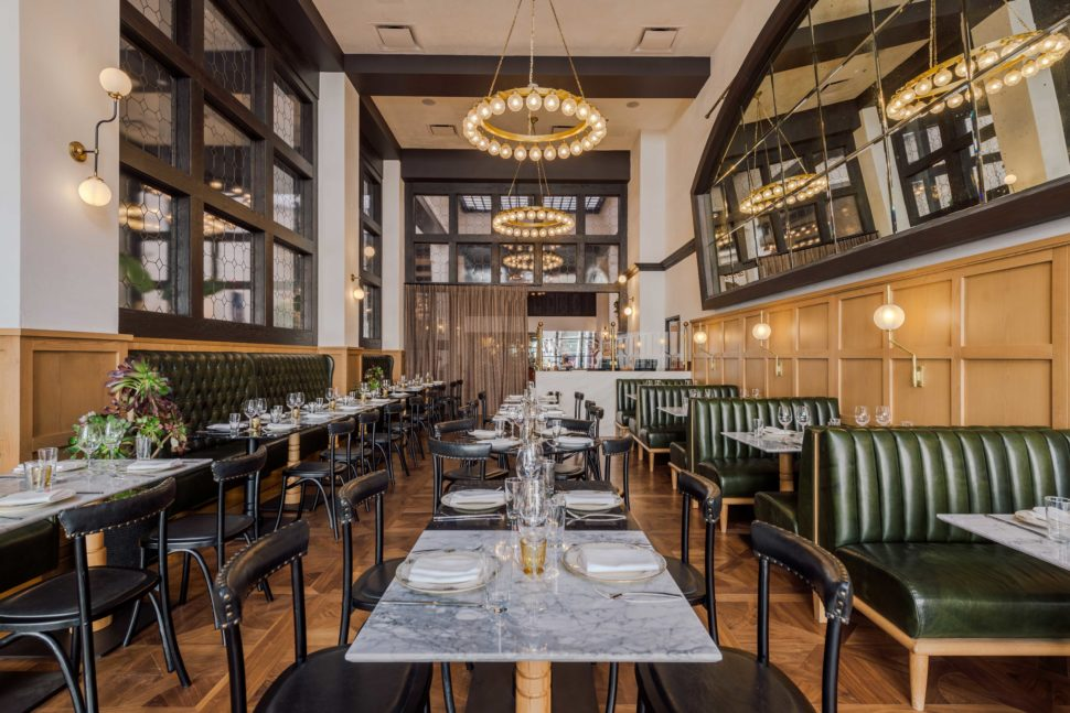 Breva, the Basque-inspired restaurant at Hotel Figueroa