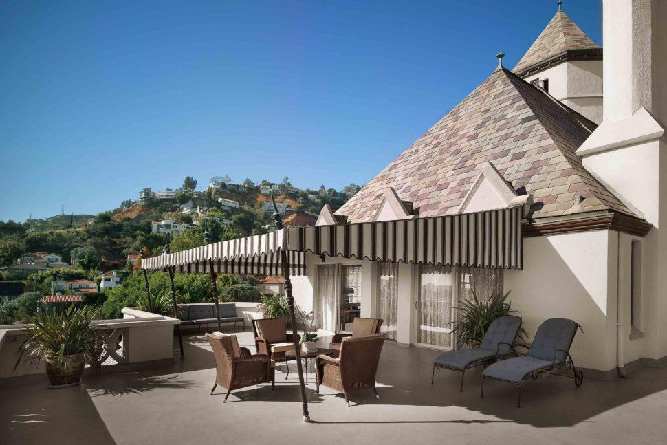 Honeymoon hotels   Chateau Marmont, LA   Mr & Mrs Smith