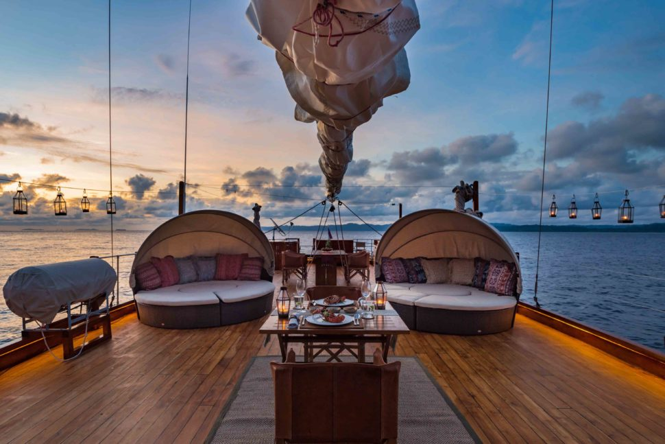 Honeymoon hotels   Sequoia Yacht, Indonesia   Mr & Mrs Smith